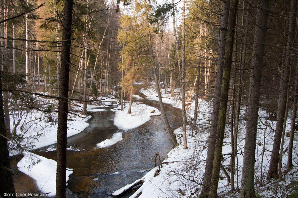 Река Страча, экотропа